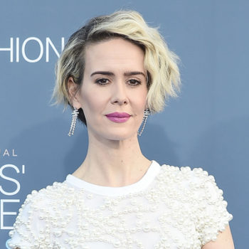 """Sarah Paulson had the best response to whether cat fights happened on set of """"Ocean's Eight"""" and you must hear it"""