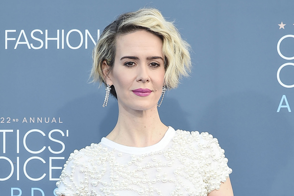 "Sarah Paulson had the best response to whether cat fights happened on set of ""Ocean's Eight"" and you must hear it"