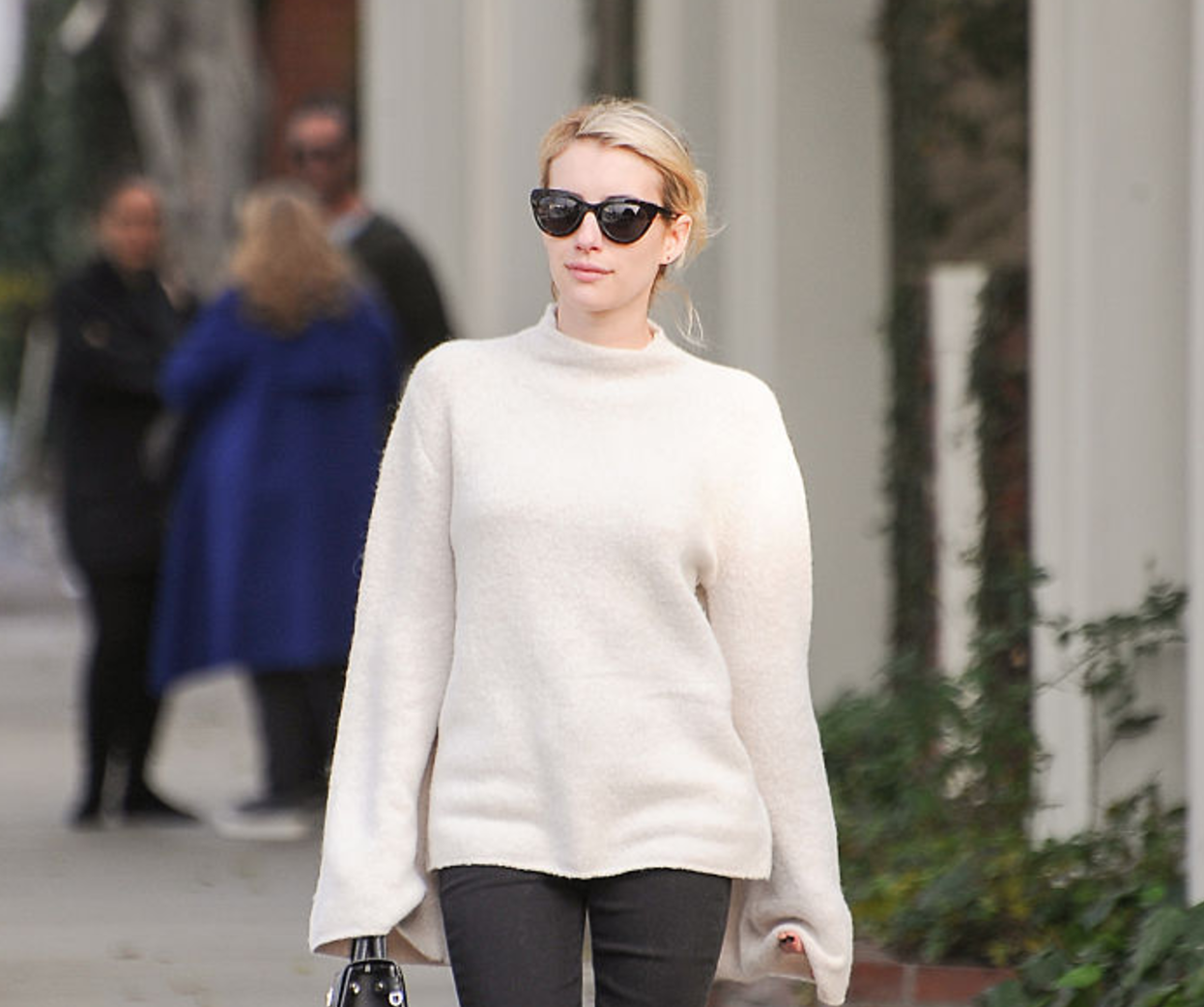 Emma Roberts just wore the biggest boots trend of 2017
