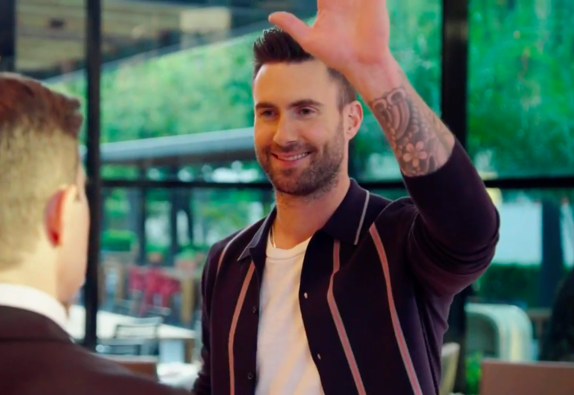 "Watch shirtless Adam Levine take a day off in this ""Ferris Bueller"" parody for ""The Voice"" finale"