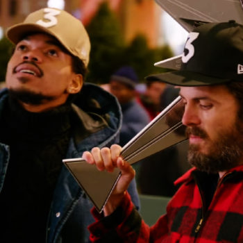 Casey Affleck & Chance The Rapper's SNL promo for this week will definitely put you in the Christmas spirit