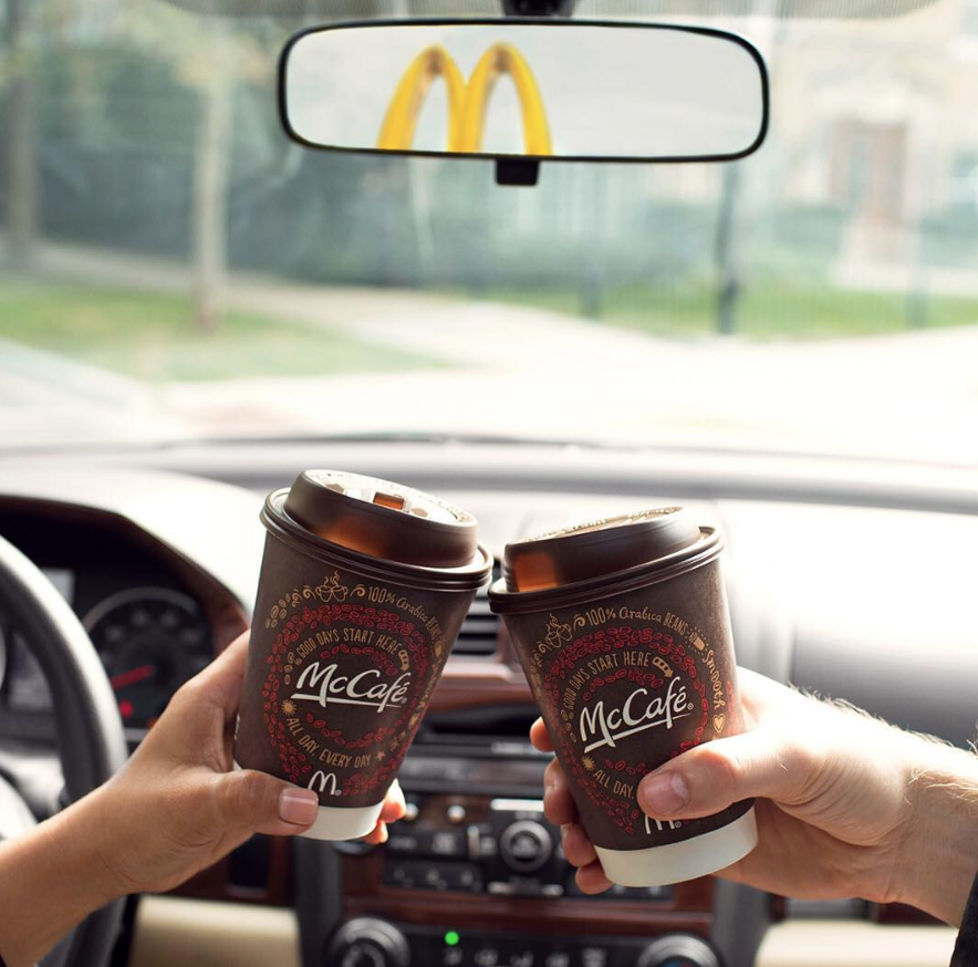 This small trick just made the McDonalds holiday cup prank SO much grosser