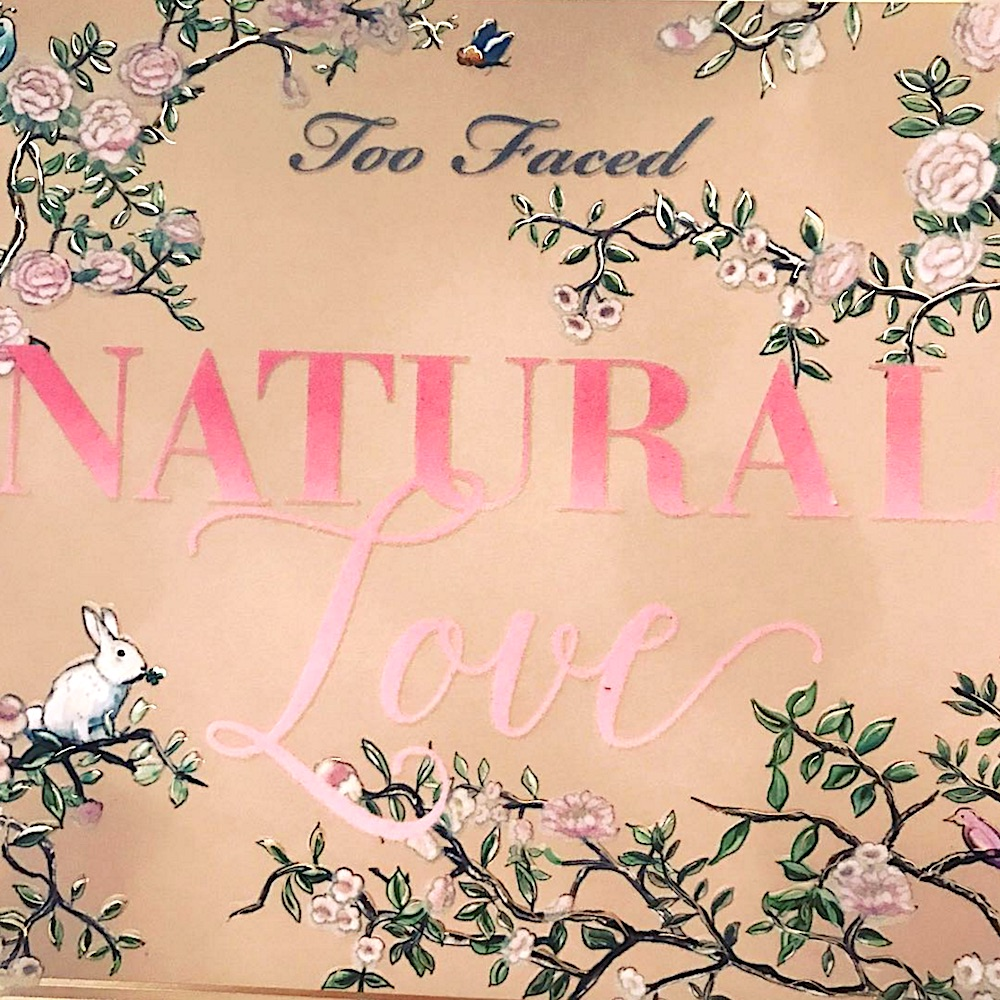 Jerrod Blandino shared a sneak peek of his Too Faced Natural Love palette and we cannot BREATHE