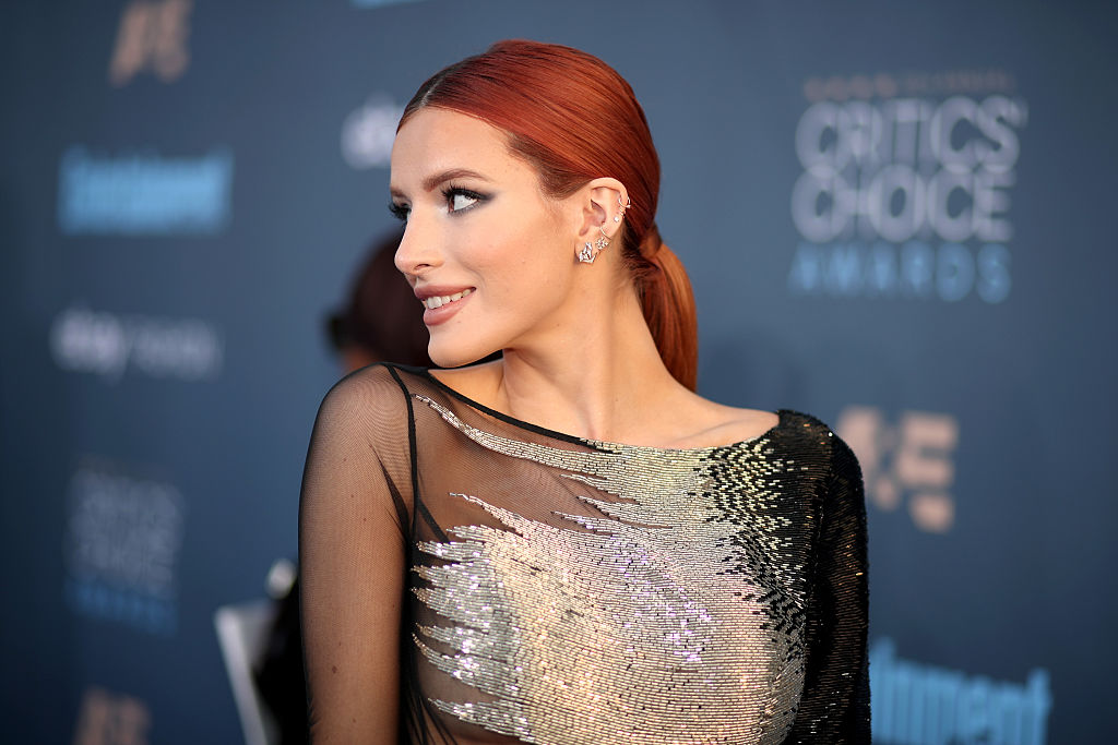 PSA: Bella Thorne just dyed her hair rainbow