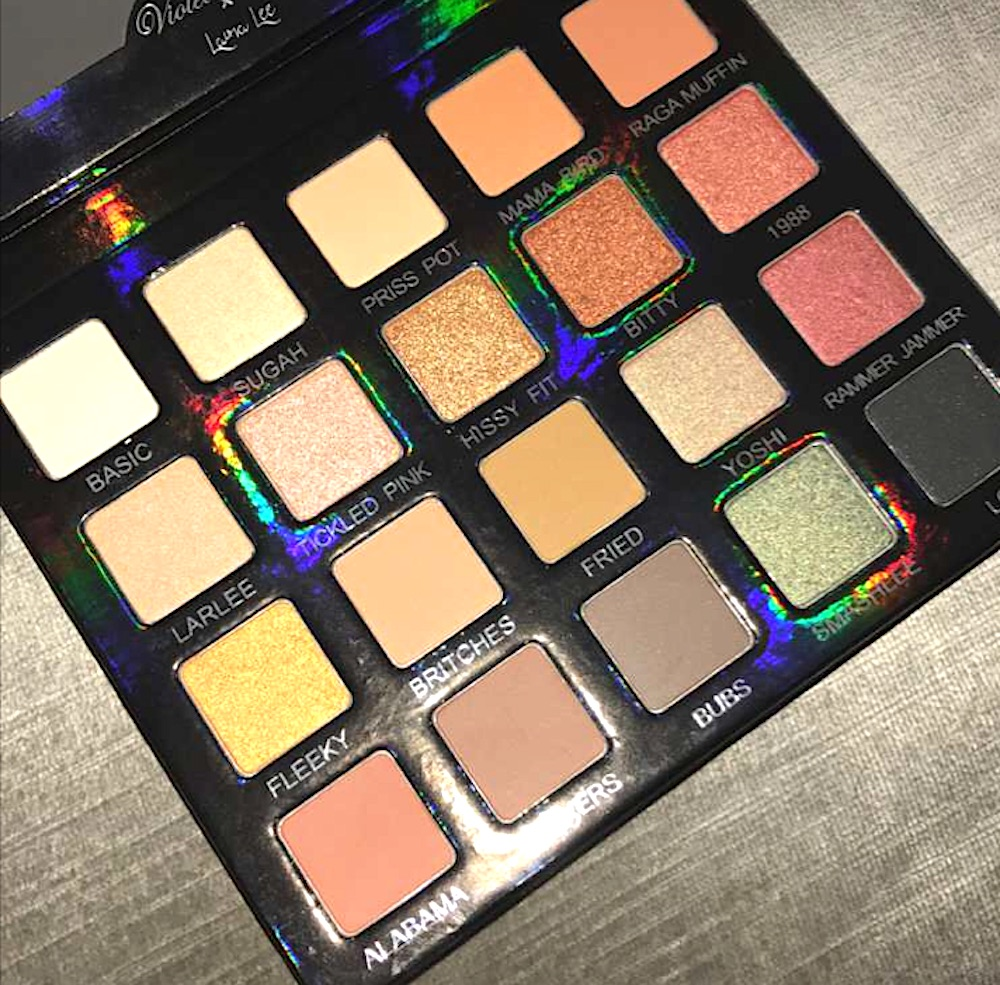Beauty blogger Laura Lee's fan fave Violet Voss palette is coming back with a new holographic look