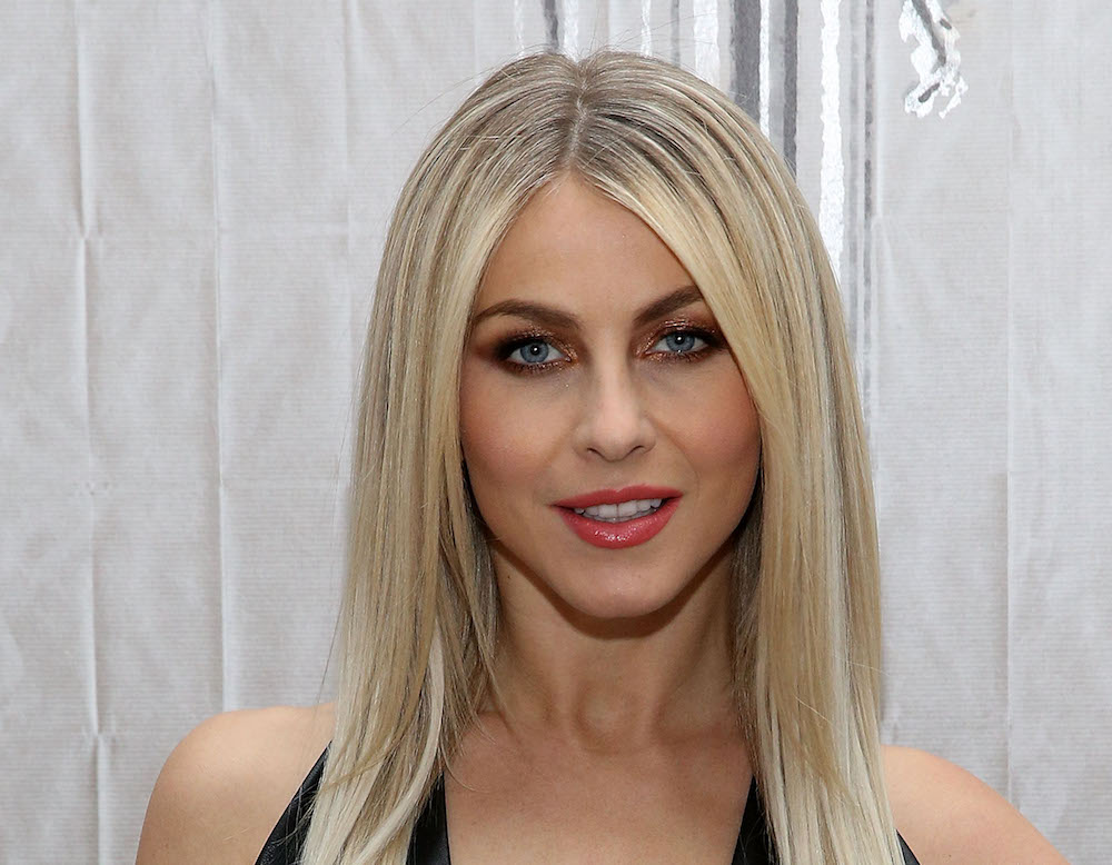 Julianne Hough rocked some updated trousers that made her look business fabulous