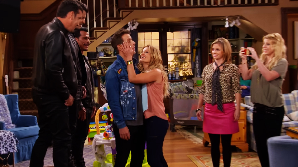 "Stop everything: There's a behind-the-scenes featurette of New Kids on the Block on ""Fuller House"""
