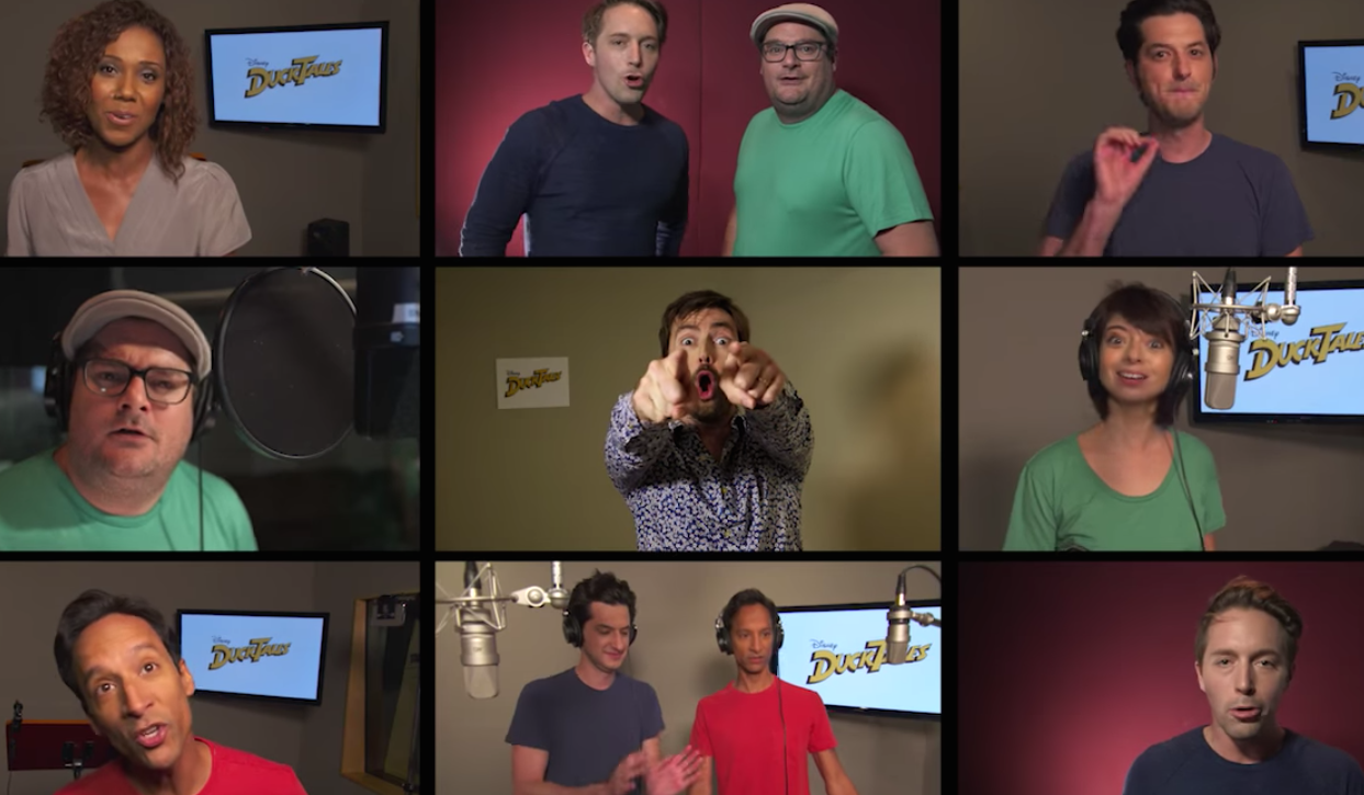 "The new cast of ""DuckTales"" sings the ""DuckTales"" theme song, and suddenly 2016 isn't that bad"
