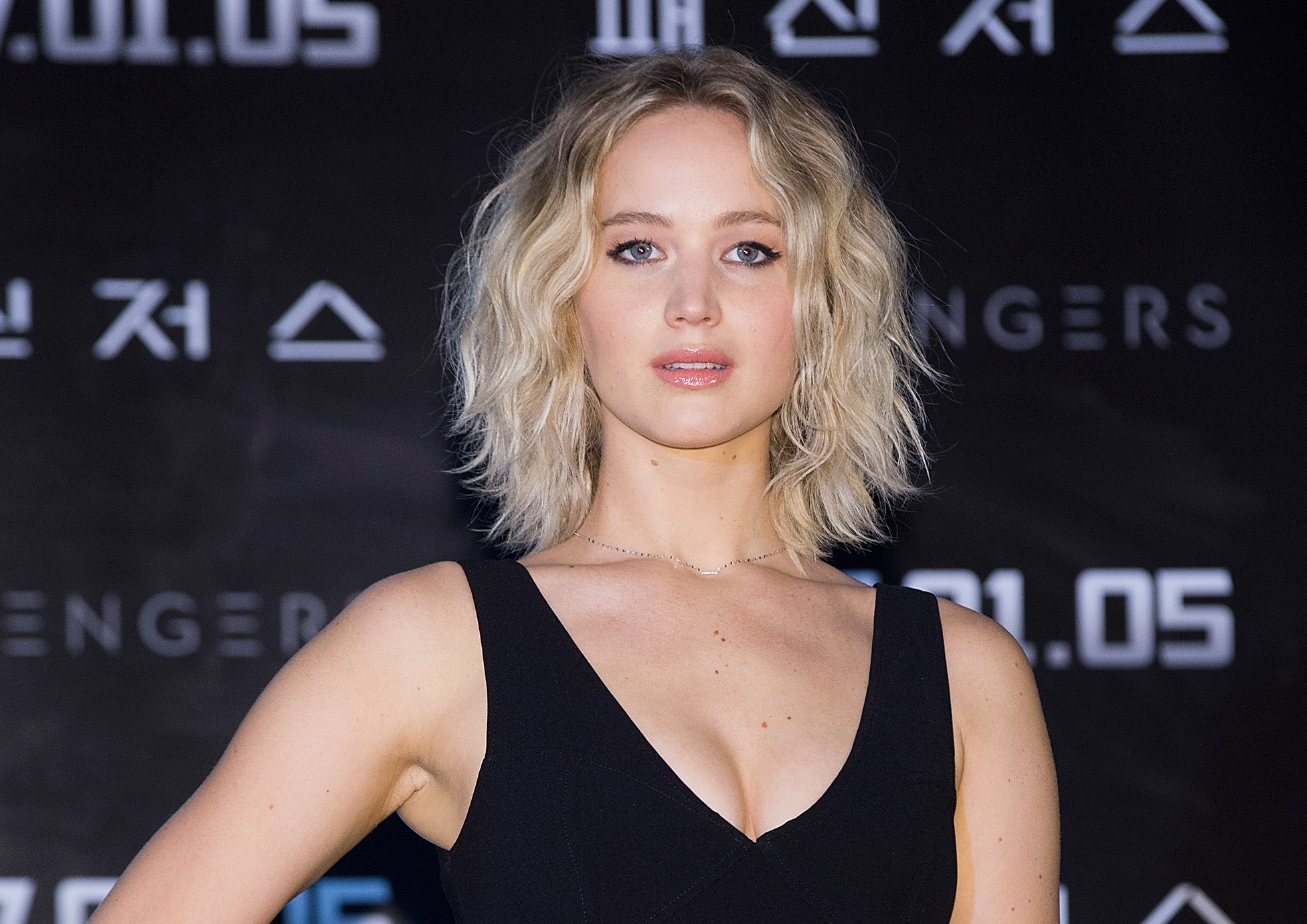 Jennifer Lawrence's heels look like they could easily stop traffic