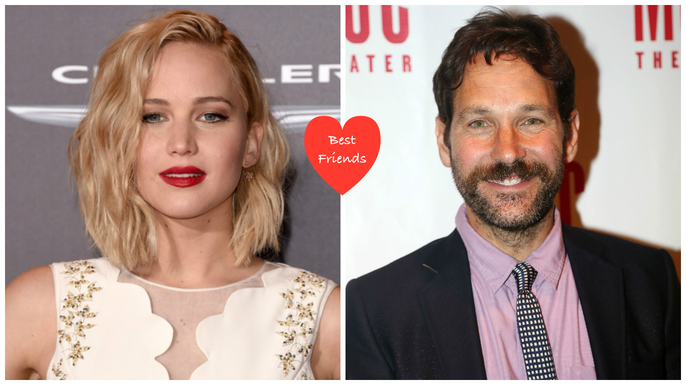 "Jennifer Lawrence knew she had ""made it"" when Paul Rudd said THIS thing to her"