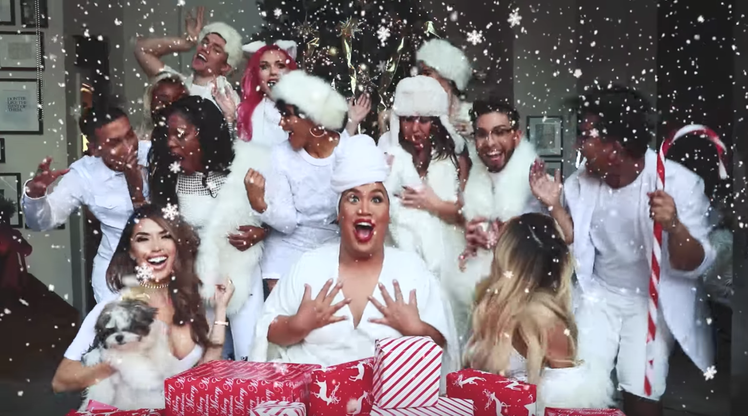 "Mariah Carey would so approve beauty vlogger Patrick Starrr's ""All I Want for Christmas is You"" video"