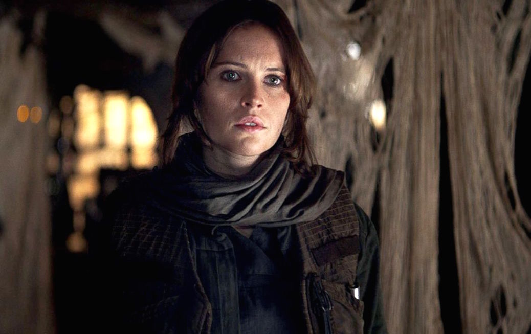 "Hold on, supposedly Felicity Jones *could* return as Jyn for more ""Star Wars"" movies"