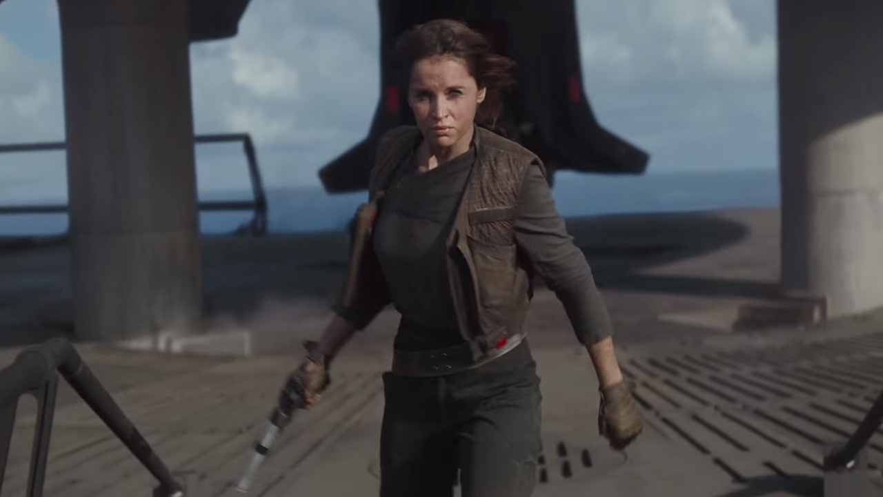 felicity jones was the highest paid actor in rogue one