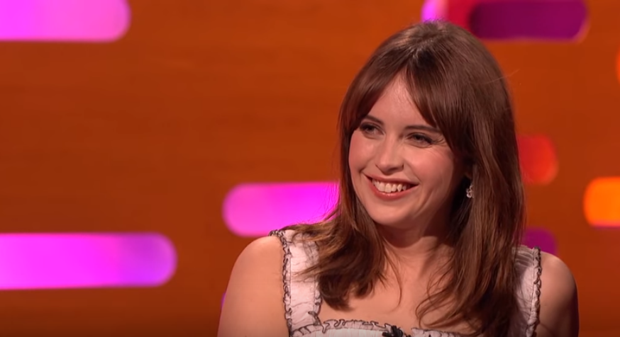 Felicity Jones is pretty freaked out about fan tattoos and we so get her reasons