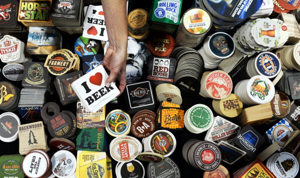There is a fascinating true story about where that beer coaster you're using is most likely from