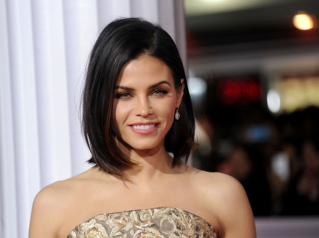 Jenna Dewan Tatum wore a gold bedazzled dress that's giving us serious Cleopatra vibes