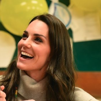 Kate Middleton looks like a human holly bush in her latest red and green holiday dress, and it actually looks amazing