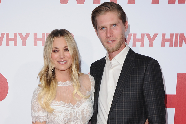 "Kaley Cuoco calls her boyfriend ""perfect"" at the ""Why Him?"" premiere and awww"
