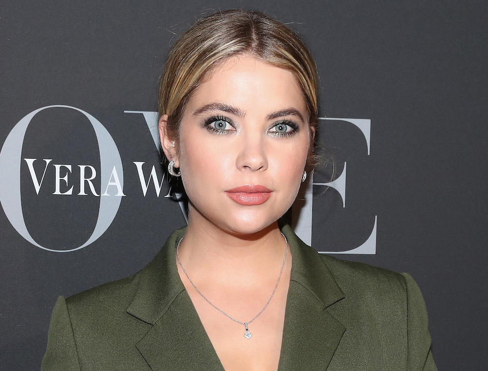 Ashley Benson just dyed her hair cotton candy pink