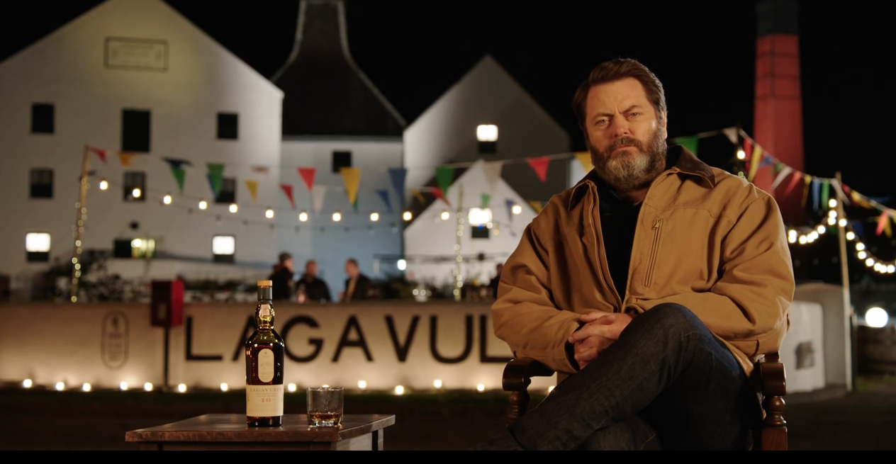 Nick Offerman is here to help you ring in the New Year, in perfect Ron Swanson style