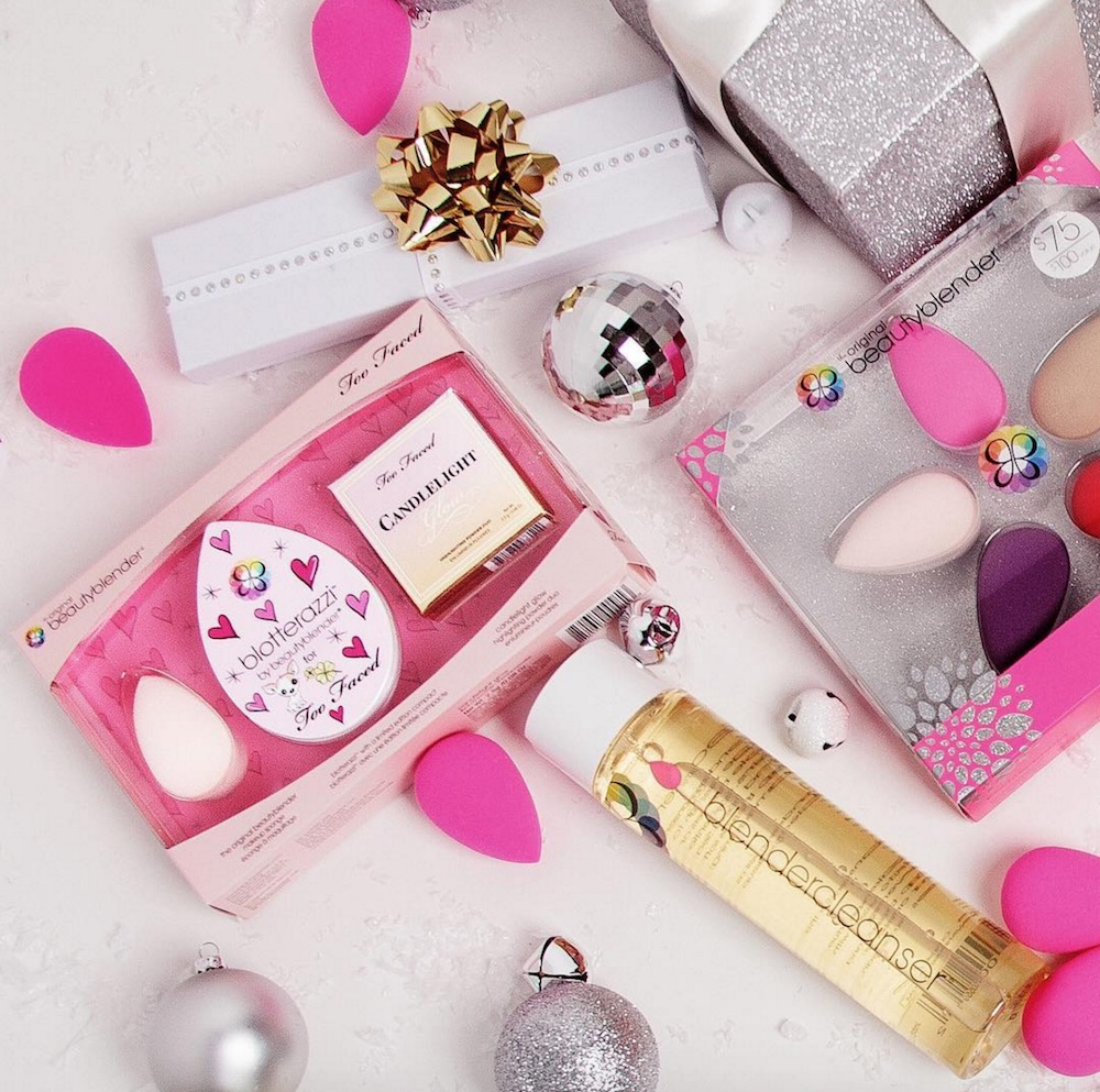 You can now get the baby pink BeautyBlender that came with their Too Faced collab by itself