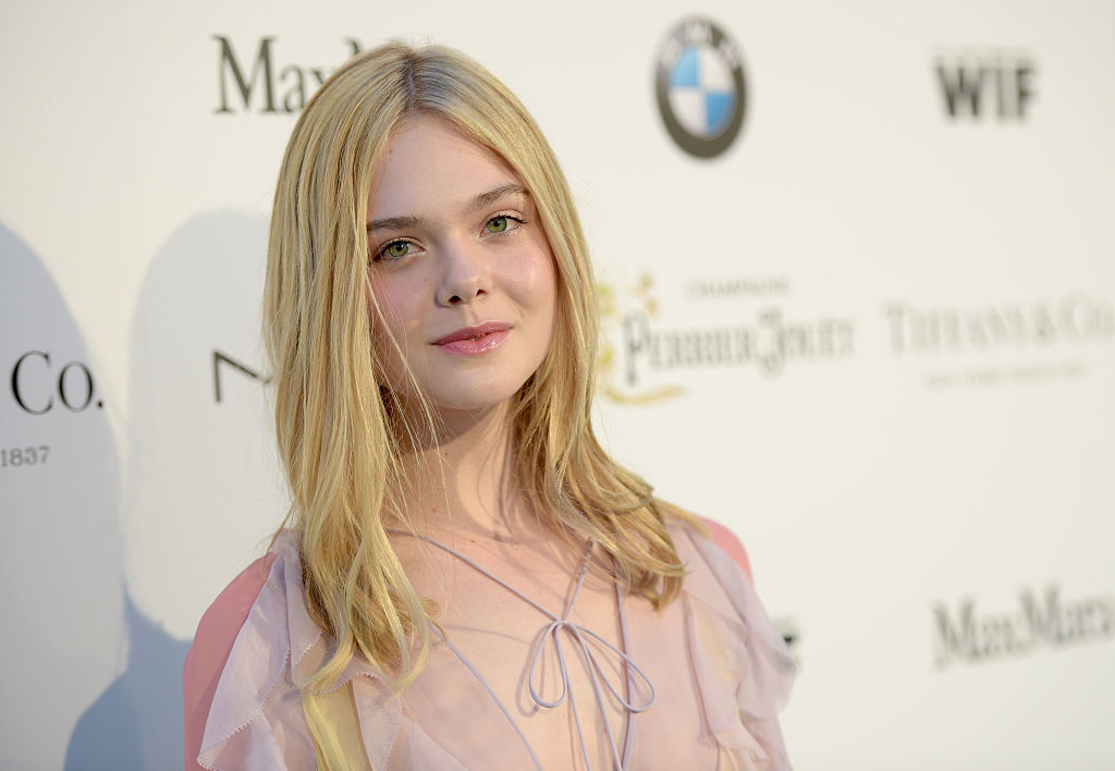 Yup, Elle Fanning's Christmas tree is exactly what you'd imagine it to be