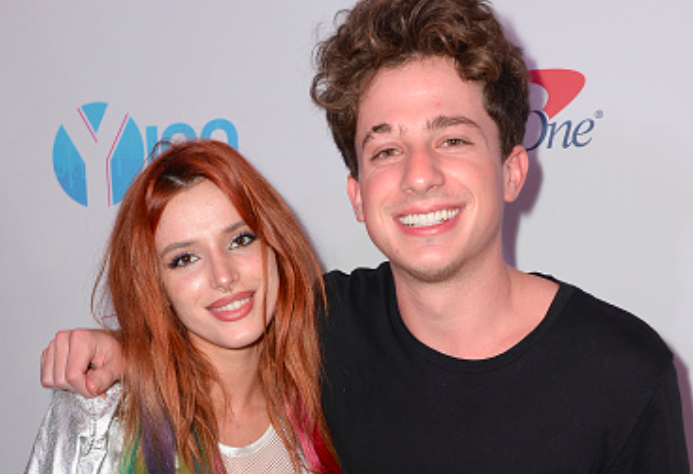 Bella Thorne fangirling out at her bae Charlie Puth's concert is super cute