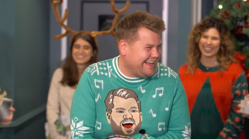 James Corden recreated all our Secret Santa nightmares in this hilarious and horrifying holiday short