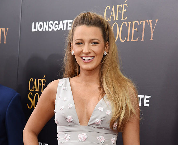 Blake Lively loves her earrings so much she dedicated an entire Instagram photo to them