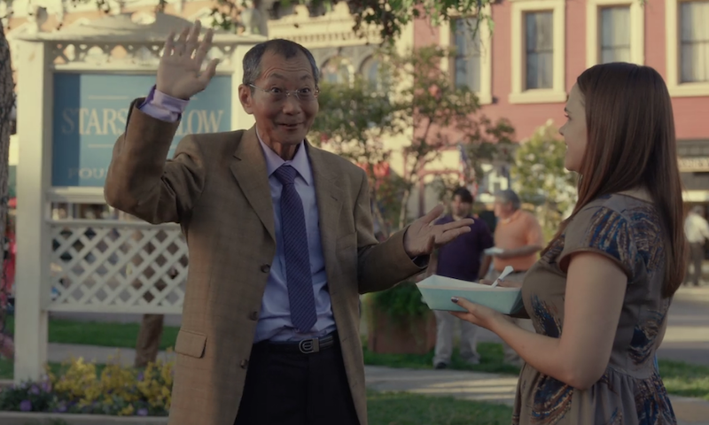 "Oh so THIS is why it took so long for ""Gilmore Girls"" to introduce Mr. Kim"