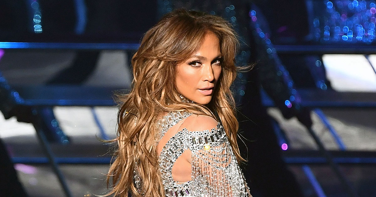 J.Lo's extravagant beaded bodysuit is an ode to her Catholic school roots