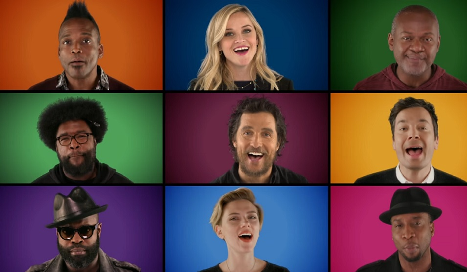 "The cast of ""Sing"" sang with Paul McCartney and Jimmy Fallon, and it was electric"