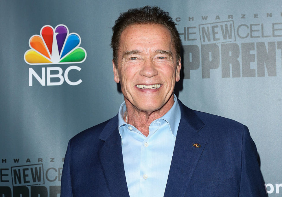 Arnold Schwarzenegger opened up about his struggles with body image, reminding us it can affect ANYONE