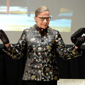 This girl dressed up like her favorite superhero, Ruth Bader Ginsburg, and we cannot get enough of her