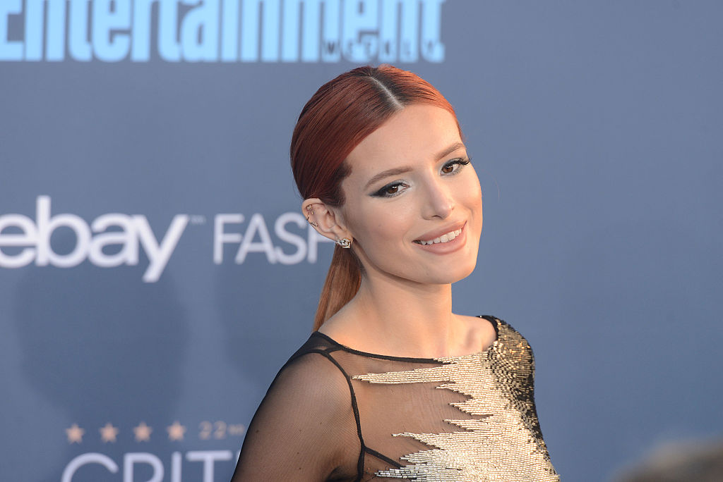 Bella Thorne hilariously snapped her chest zits and we can totally relate