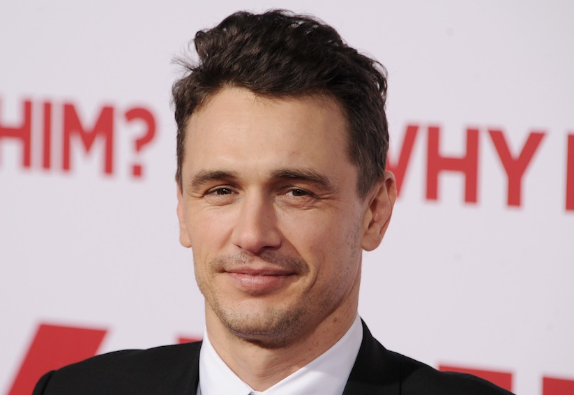 "James Franco snuck his own, extremely strange paintings into ""Why Him?"""
