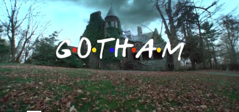"""Gotham"" got its opening credit sequence remixed to look like ""Friends"" and it's awesome"