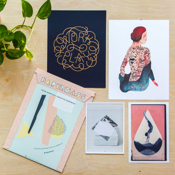 This art subscription box is the perfect way to make 2017 more colorful