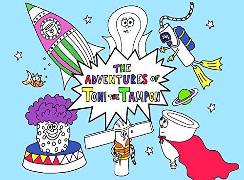 This bloody great coloring book aims to end menstruation stigma