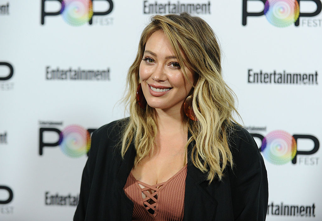 This is the one hairstyle Hilary Duff seems to be head-over-heels in love with