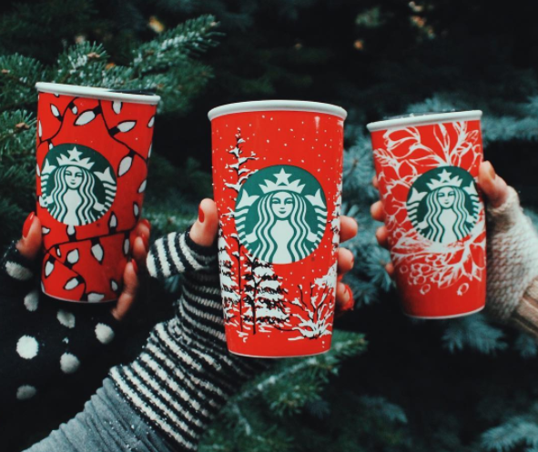 You're going to want all three — yes three — of these new Starbucks holiday drinks