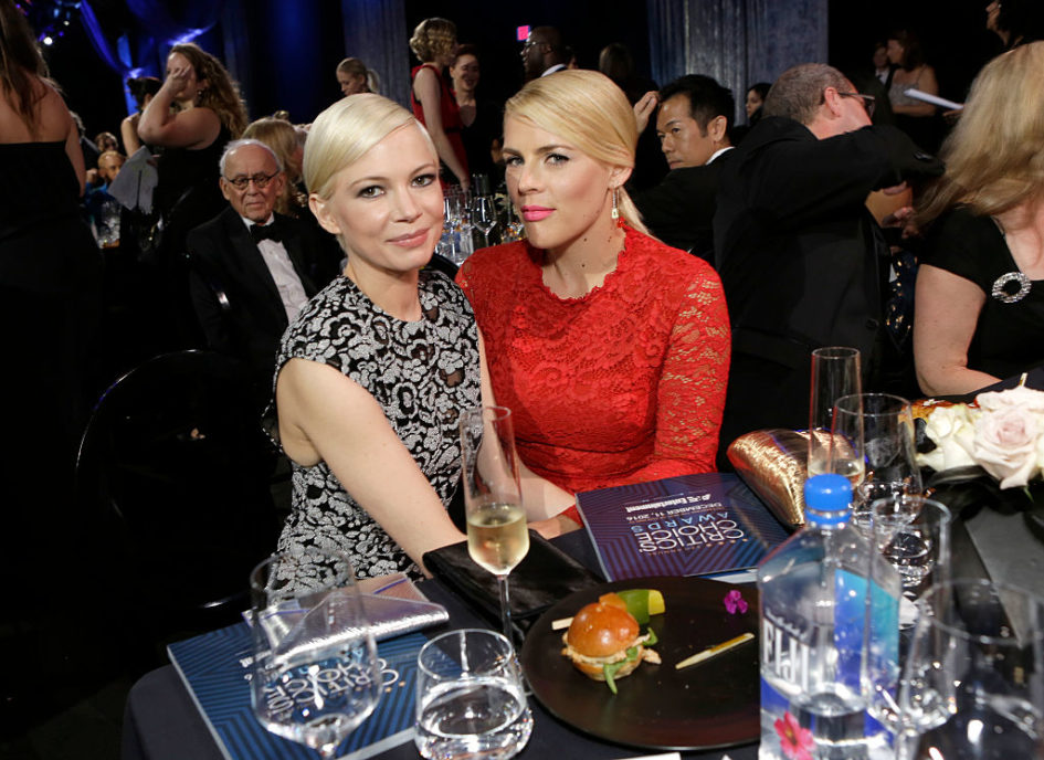 The daughters of BFFs Busy Philipps and Michelle Williams are also super close, and we think that's adorable