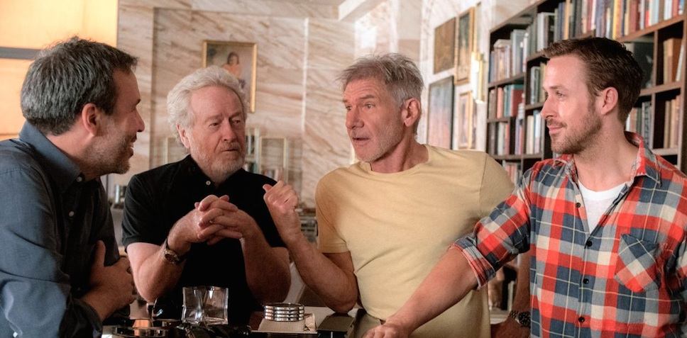 """Harrison Ford weighs in on whether his """"Blade Runner"""" character really is a replicant, and we're intrigued..."""