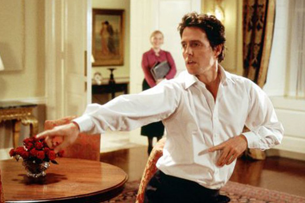 "Hugh Grant wasn't a fan of that amazing dance scene in ""Love Actually"" and it's very disappointing"