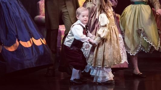 This young dancer is the first person with Down syndrome to perform with the Cincinnati Ballet