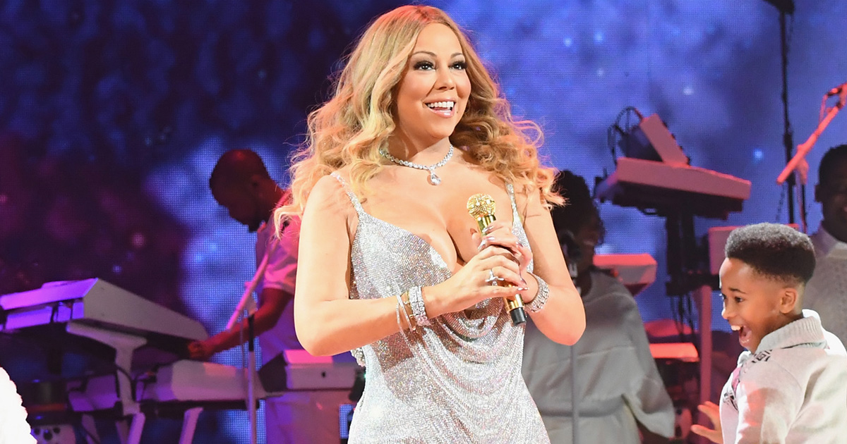 "Mariah Carey just shared the cutest video of her dancing to ""All I Want For Christmas"" with her son Moroccan"