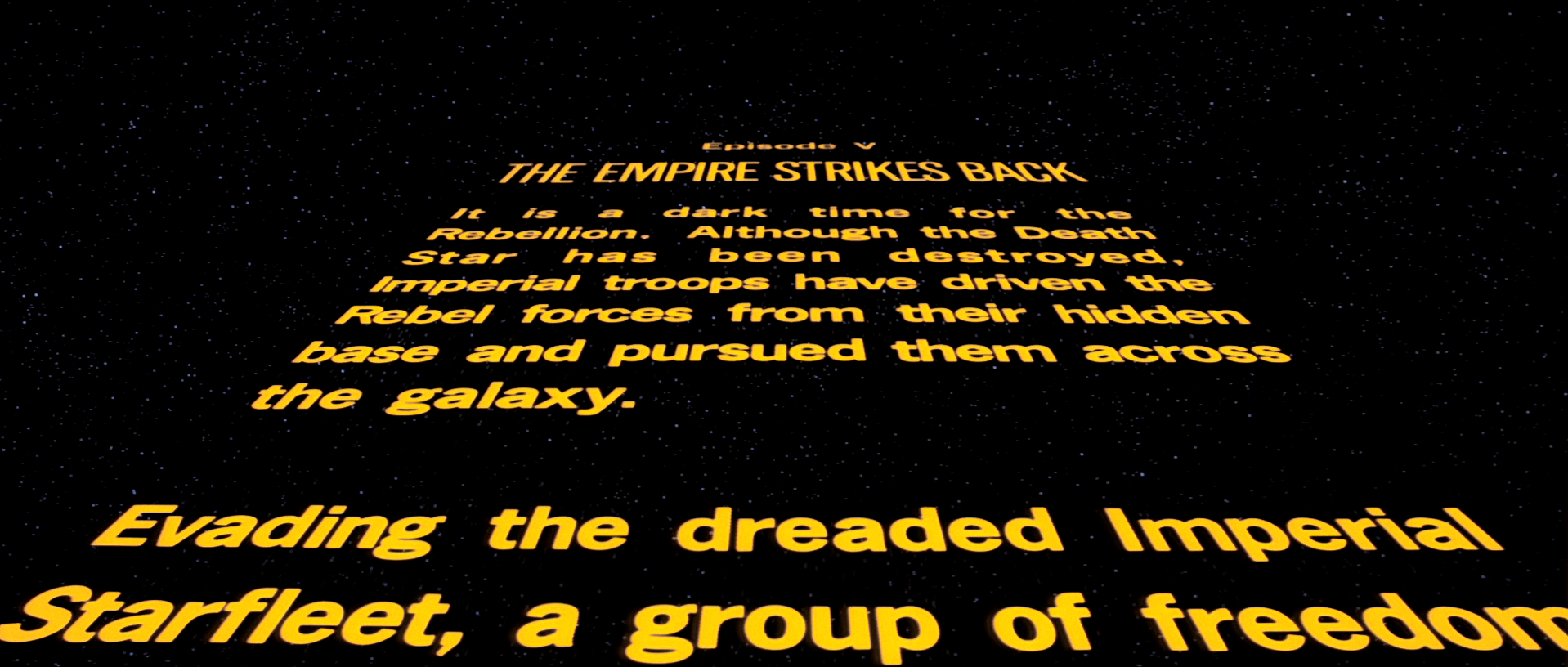 """The creator of the """"Star Wars"""" opening crawl is *not* pleased about its omission from """"Rogue One"""""""