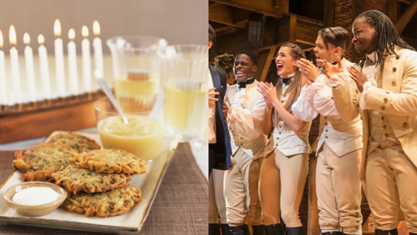 "The Hanukkah/""Hamilton"" mashup song you've always wanted is finally here"