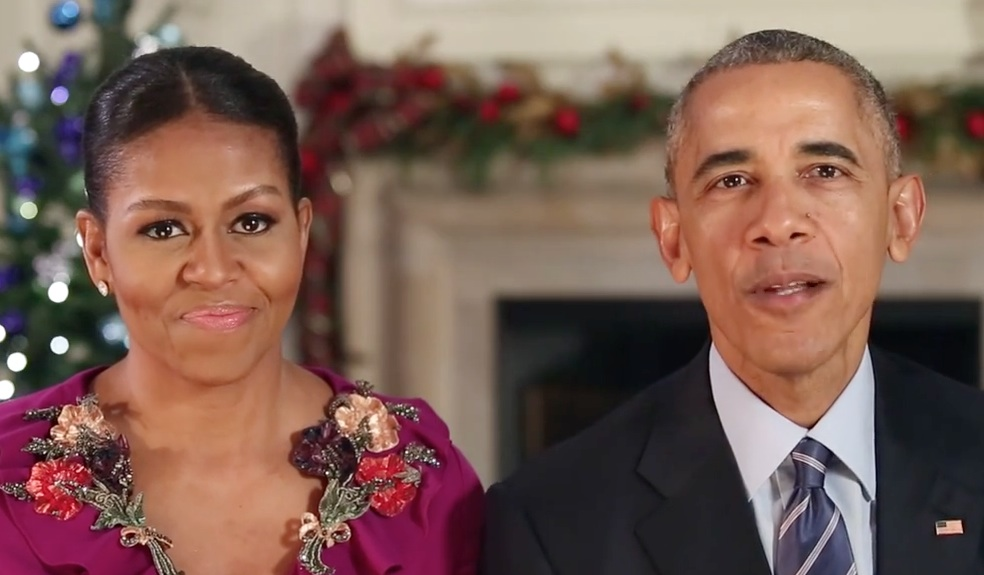 The Obamas released their last holiday video ever, and their parting words are so important
