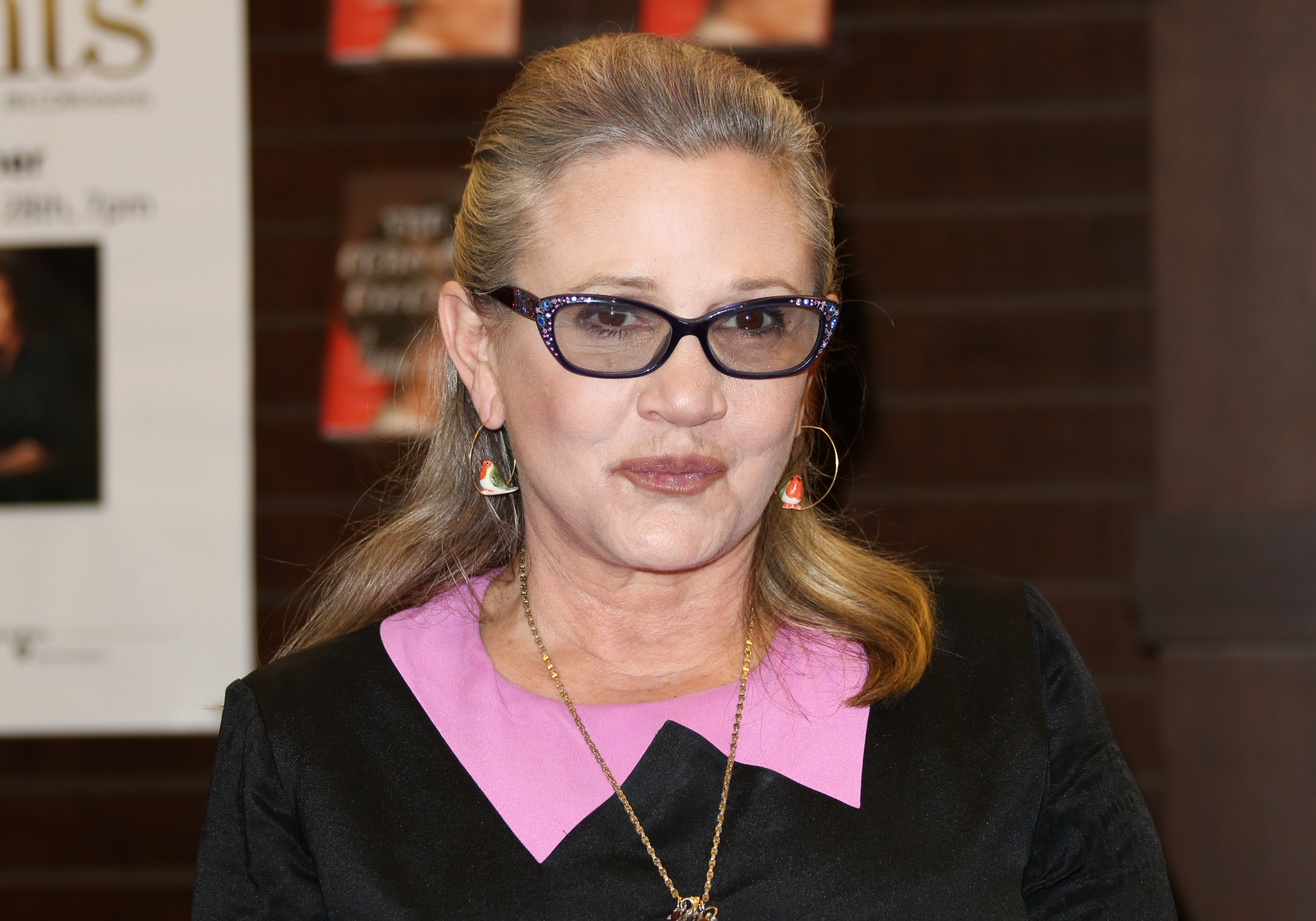 We have a new update about Carrie Fisher's condition after her heart attack, and we're all hoping for the best